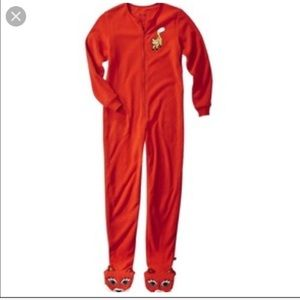 Nick & Nora Fox onsie pajamas , small